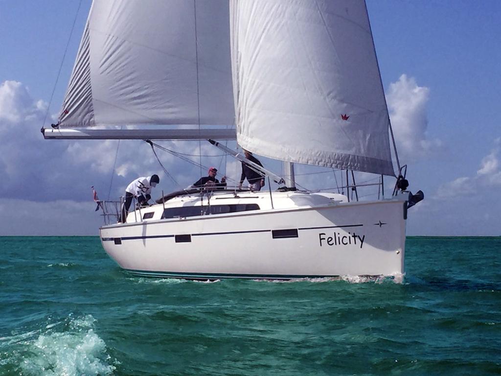 Bavaria 37 sailing yacht