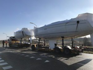 Arrival of new Bavaria sailing yachts